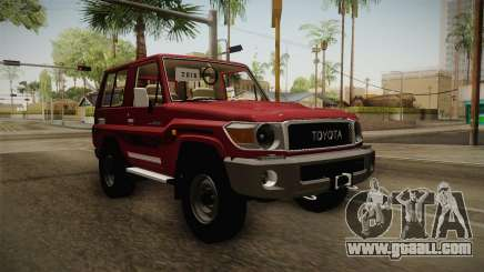 Toyota Land Cruiser J71 2016 for GTA San Andreas