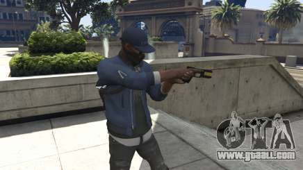 Watch Dogs 2: Marcus Holloway for GTA 5