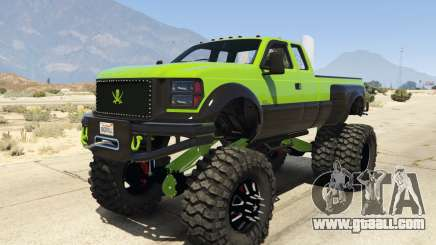 Sandking HD Monster Dually for GTA 5