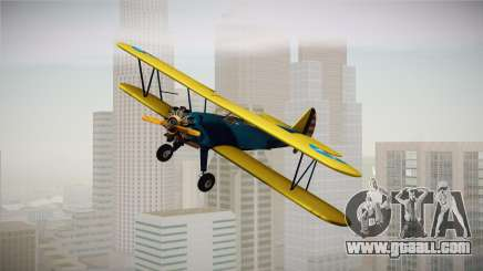 PT-17 Stearman Biplane for GTA San Andreas