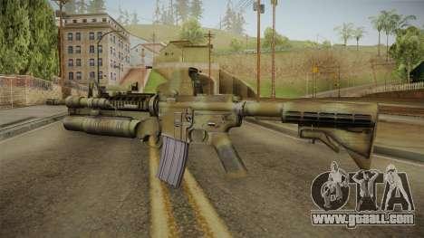 M4A1 Holo for GTA San Andreas second screenshot