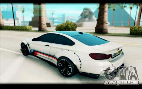 BMW M4 Perfomance for GTA San Andreas left view