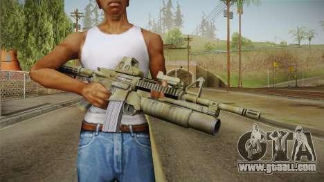 M4A1 Holo for GTA San Andreas third screenshot
