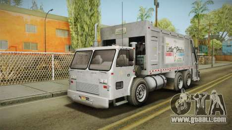 GTA 5 Jobuilt Trashmaster 2 IVF for GTA San Andreas