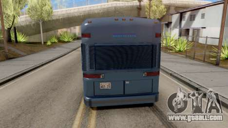 New Coach for GTA San Andreas back left view
