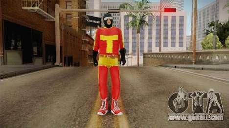 Toni Cipriani in Hero Costume for GTA San Andreas second screenshot