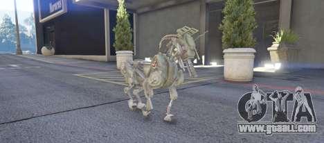 GTA 5 DOG Military Robot 1.0