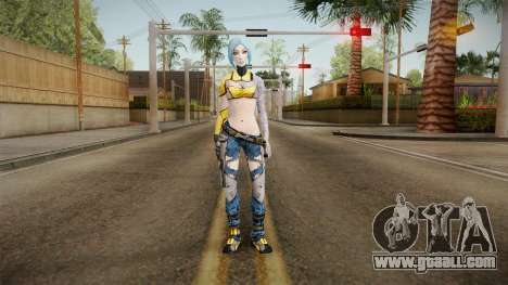 Borderlands 2 - Skimpier Maya The Siren for GTA San Andreas second screenshot