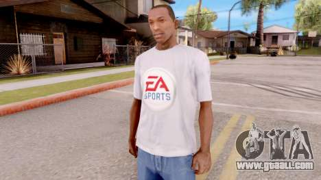 T-shirt EA Sports UFC for GTA San Andreas