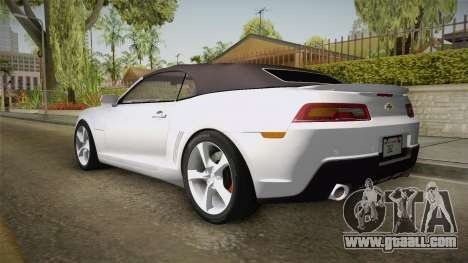 Chevrolet Camaro Convertible 2014 for GTA San Andreas left view