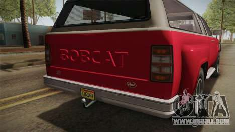 GTA 5 Vapid Bobcat XL IVF for GTA San Andreas inner view