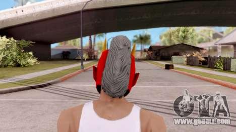Mask Samurai for GTA San Andreas third screenshot