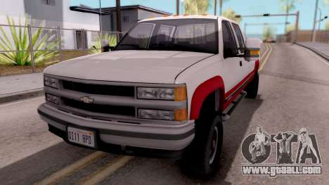 Chevrolet K3500 Silverado Crew Cab 1994 for GTA San Andreas