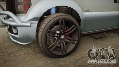 GTA 5 Vapid Sandking XL Stock for GTA San Andreas back view