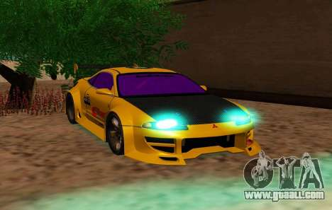 Mitsubishi Eclipse GST 1999 for GTA San Andreas right view