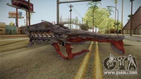 Collector Assault Rifle for GTA San Andreas second screenshot
