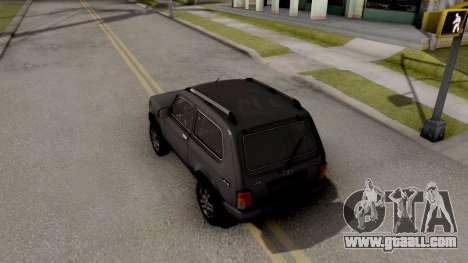 Lada Niva Urban V2 Stock for GTA San Andreas back view