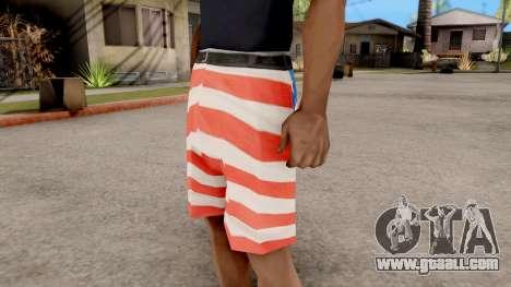 USA Shorts for GTA San Andreas