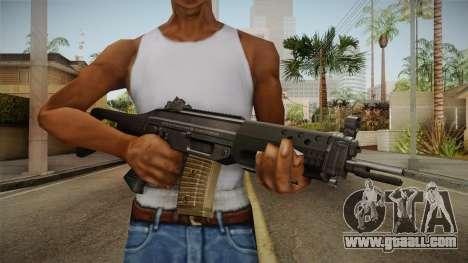 SIG-552 Assault Rifle for GTA San Andreas third screenshot