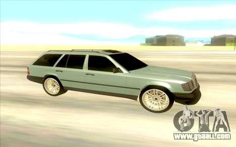 Mercedes-Benz W124 Wago for GTA San Andreas