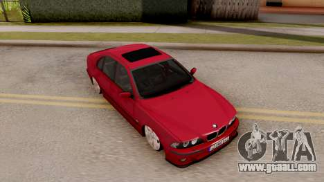 BMW M5 E39 MPOWER for GTA San Andreas right view