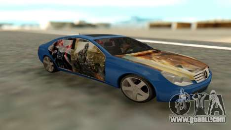 Mersedes-Benz CLS 350 for GTA San Andreas