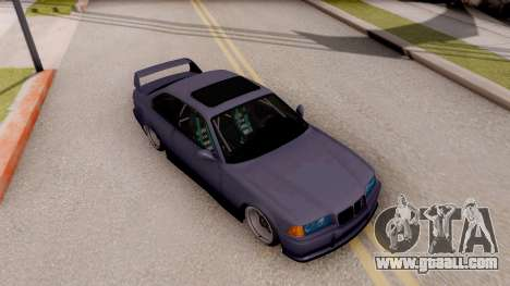 BMW M3 E36 Stanced for GTA San Andreas right view