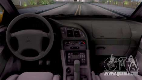 Mitsubishi Eclipse GST 1995 for GTA San Andreas inner view
