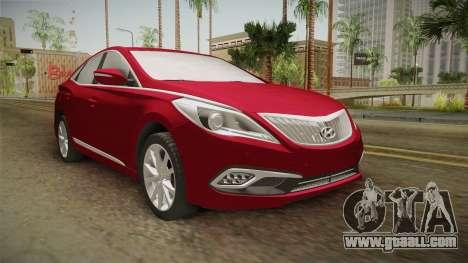 Hyundai Azera 2016 for GTA San Andreas