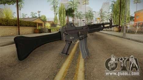 Daewoo K-2 Assault Rifle for GTA San Andreas second screenshot