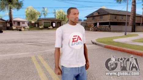 T-shirt EA Sports UFC for GTA San Andreas second screenshot