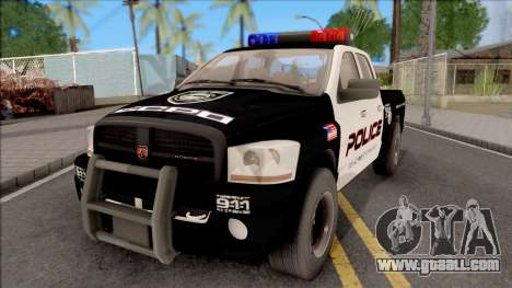 Dodge Ram High Speed Police for GTA San Andreas