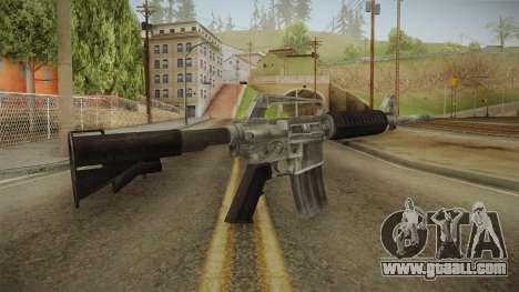 CS:GO - M4A1-S Basilisk No Silencer for GTA San Andreas third screenshot