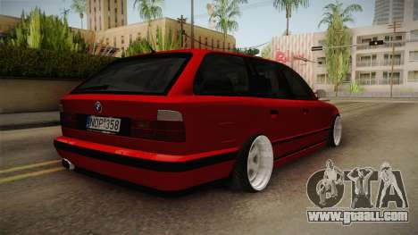 BMW 5 Series E34 Touring Stance for GTA San Andreas right view