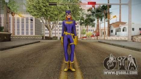 DC Legends - Batgirl for GTA San Andreas second screenshot