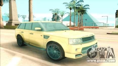 Range Rover Arden Design for GTA San Andreas