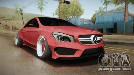 Mercedes-Benz CLA 45 AMG WideBody 2014 for GTA San Andreas