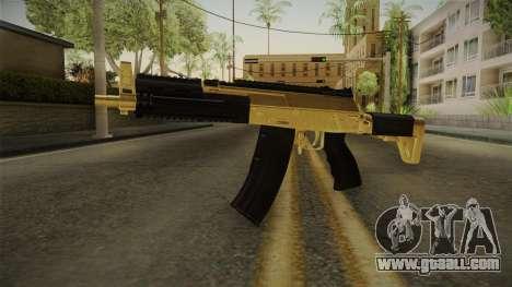 AK-12 Gold for GTA San Andreas second screenshot