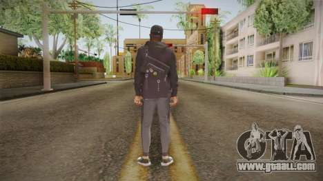 Watch Dogs 2 - Marcus v2.1 for GTA San Andreas third screenshot