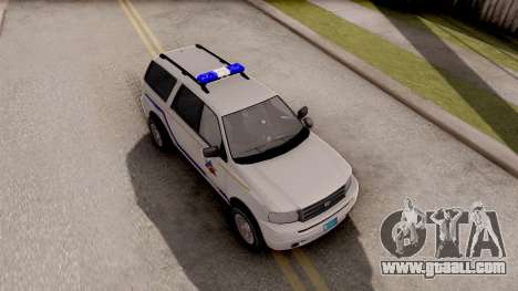 Dundreary Landstalker Hometown PD 2009 for GTA San Andreas right view