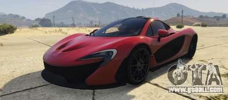 McLaren P1 2014 2.0 for GTA 5