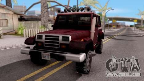 Mesa Off-Road for GTA San Andreas