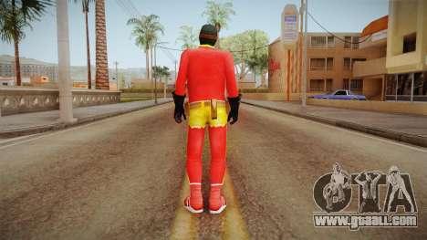 Toni Cipriani in Hero Costume for GTA San Andreas third screenshot