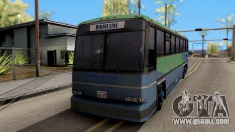 New Coach for GTA San Andreas