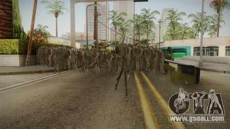 M40A3 Ghillie for GTA San Andreas