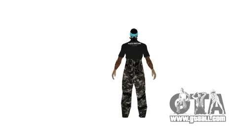 Full pack of skins Ghetto for GTA San Andreas third screenshot