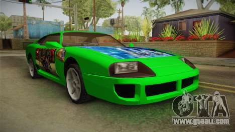 Jester Final Fantasy X Paintjob for GTA San Andreas right view