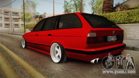 BMW 5 Series E34 Touring Stance for GTA San Andreas left view