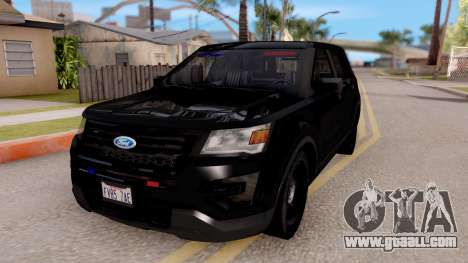 Ford Explorer FBI for GTA San Andreas