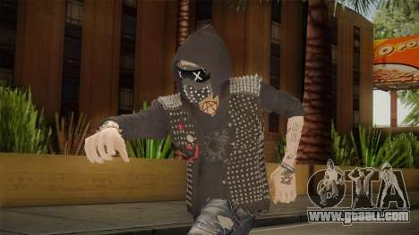 Watch Dogs 2 - Wrench for GTA San Andreas